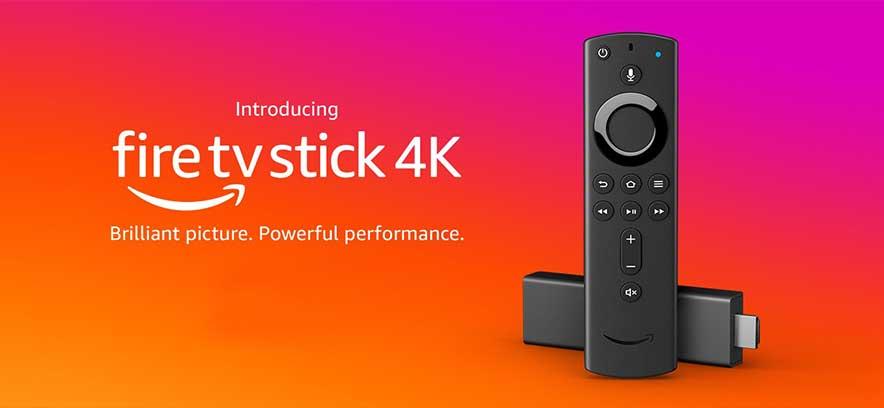 جهاز Amazon fire tv stick 4k