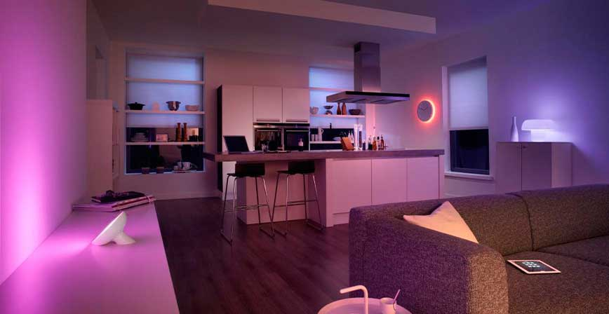 Utilize Lighting from Philips Hue