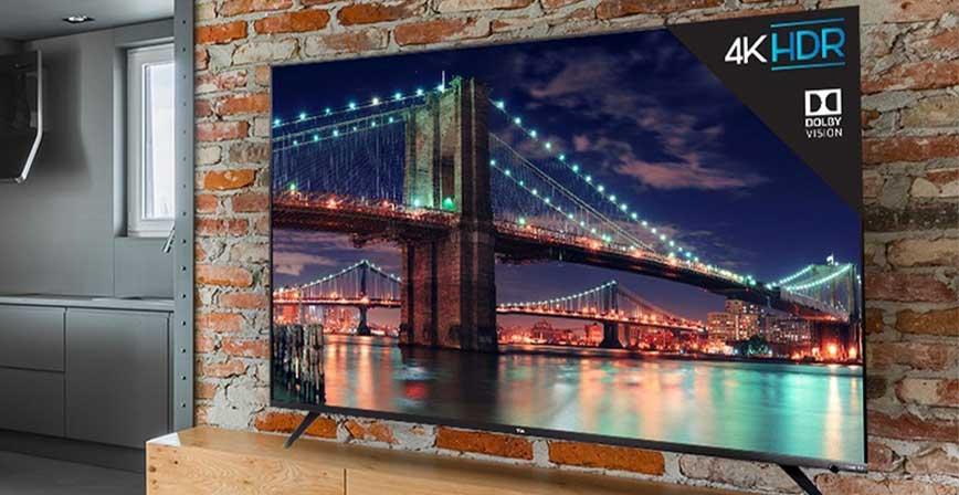 TCL Roku 6-Series 55-Inch 4K UHD, أفضل أجهزة التلفزيون الذكية