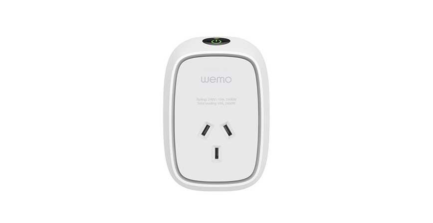 المقابس الذكية مع خاصية المراقبة Wemo Insight Smart Plug with Monitoring