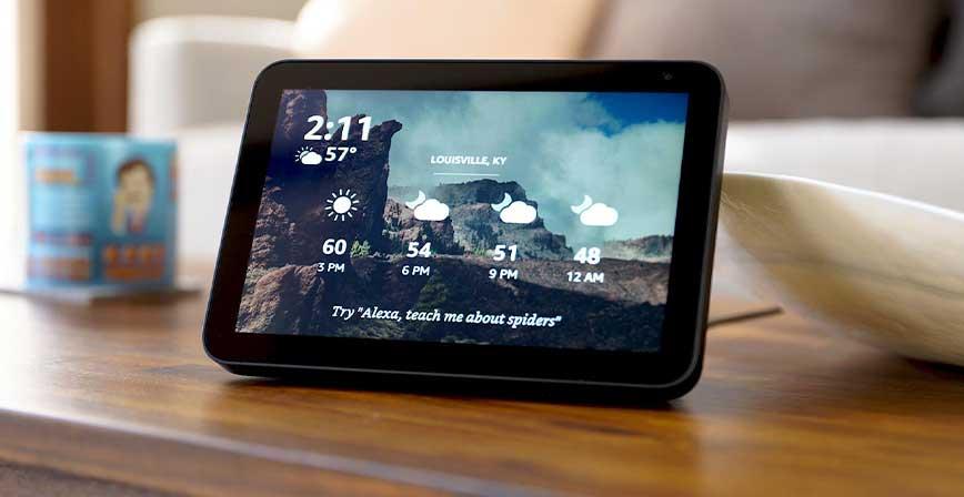 best smart Display, echo show 8
