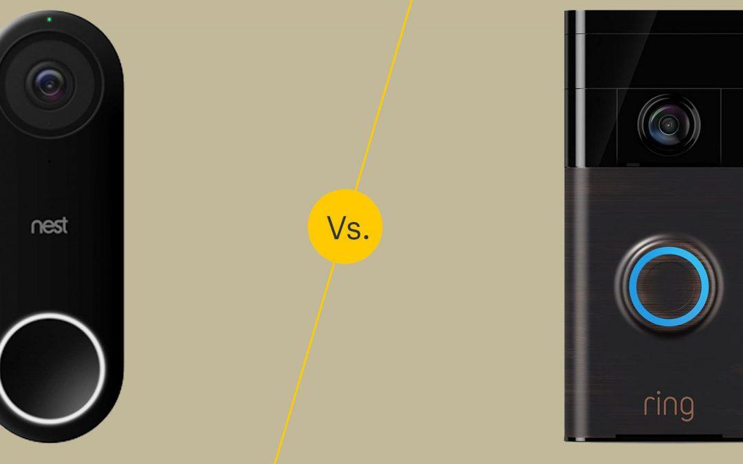 Ring vs. Nest doorbell: a full comparison