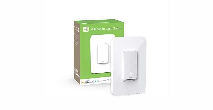 مفتاح الضوء الذكيّ Wemo Wi-Fi