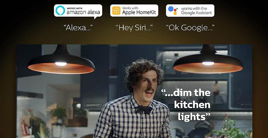 مصابيح الإضاءة الذكية