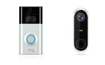 مقارنة بين جرس الباب بالفيديو الذكيّ Ring و Nest