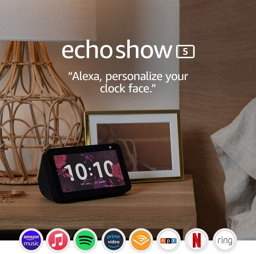 الشاشة الذكية  Echo Show 5c