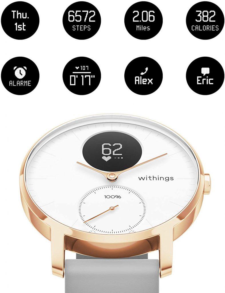 الساعة الذكية من Withings