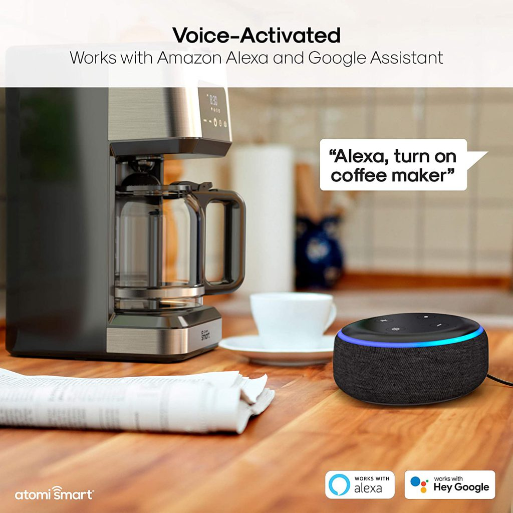ماكينة تحضير القهوة الذكية Atomi smart