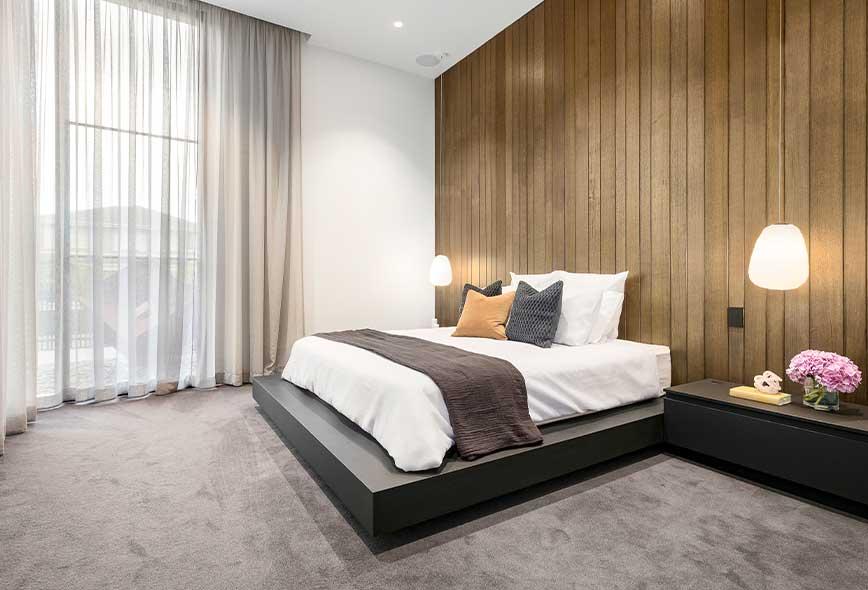 أفكار غرفة النوم الذكية