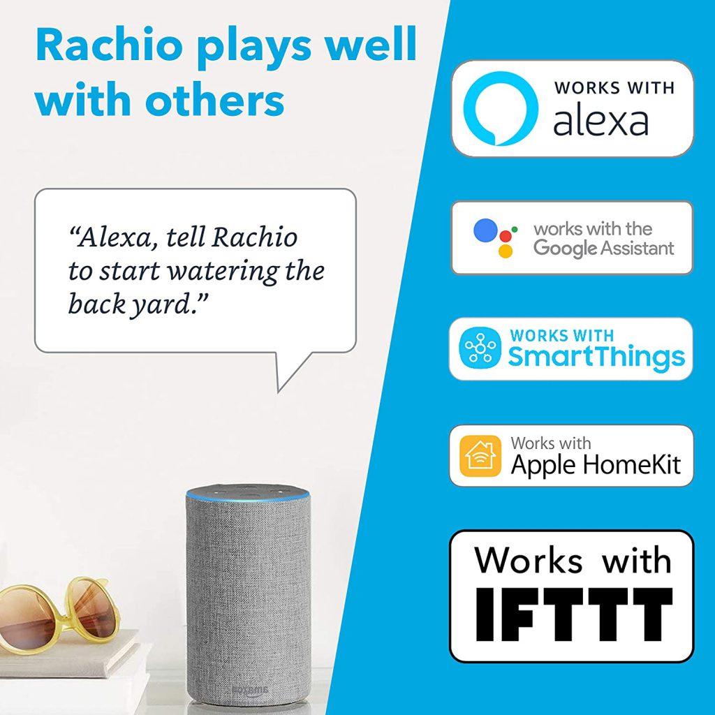 ميزت جهاز الرش الذكي Rachio