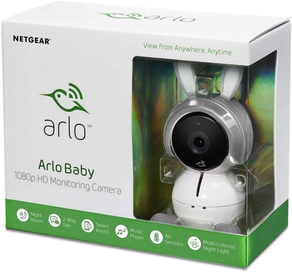 جهاز مراقبة الطفل Arlo Smart Baby Monitor,أجهزة مراقبة الأطفال الذكية