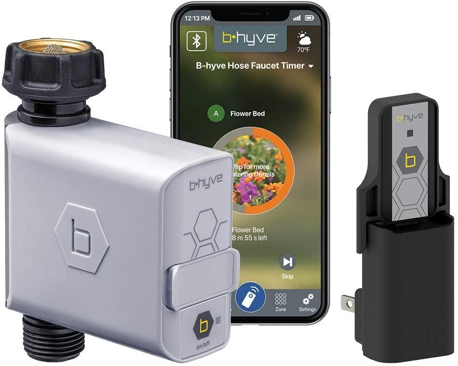 4. جهاز B-hyve الذكي للتحكم بالرش