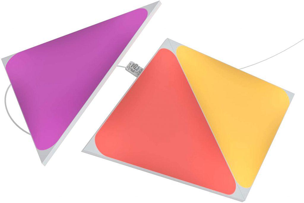 جهاز الإضاءة الذكية من Nanoleaf