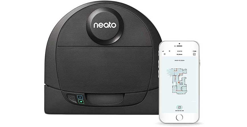 مكنسة روبوت ذكية Neato Robotics D4
