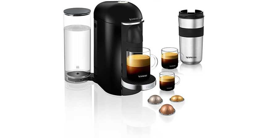 ماكينة القهوة Nespresso Vertuo Plus