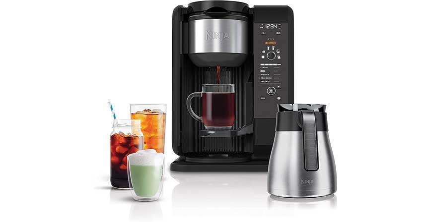 ماكينة القهوة Ninja Hot and Cold-Brewed System