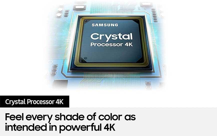 تقنية معالج Crystal 4K