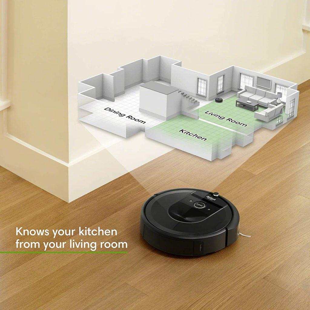 مكنسة روبوت ذكية (iRobot Roomba i7 (7150