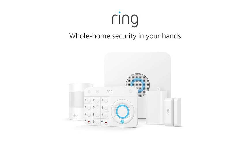 أقوى نظام مراقبة وأمان منزلي من رينج Ring Alarm