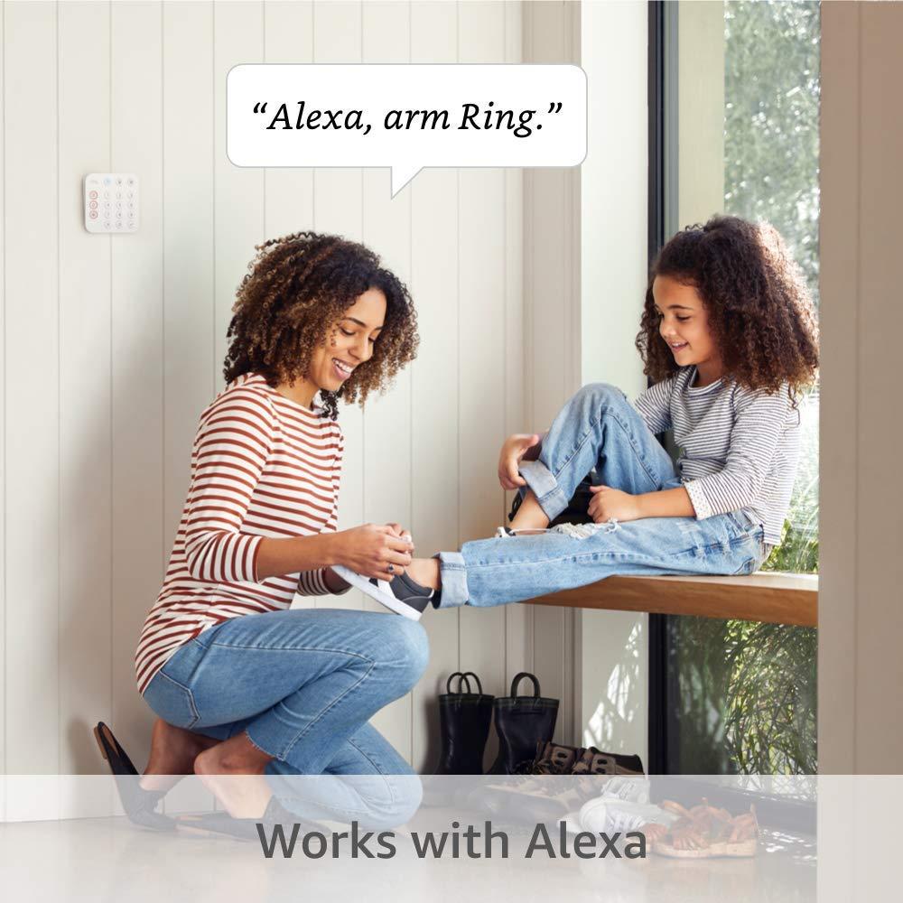 تكامل المنزل الذكي مع Ring Alarm