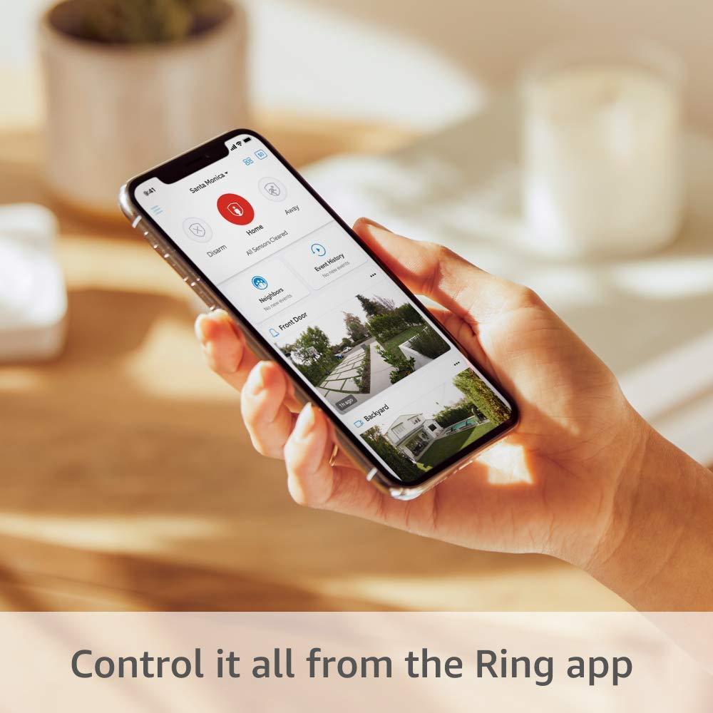 إعدادات Ring Alarm